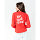 MAD ENGINE Coca Cola Real Thing Red Womens Tee