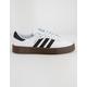 ADIDAS Sambarose White & Gum Womens Shoes