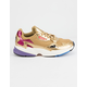 ADIDAS Falcon Gold Metallic Womens Shoes