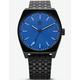 ADIDAS PROCESS_M1 All Black & Blue Watch
