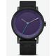 ADIDAS DISTRICT_W1 Black & Legend Purple Watch