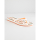 ROXY Tahiti VI White Womens Sandals