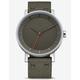 ADIDAS DISTRICT_W1 Silver & Raw Khaki Watch
