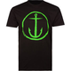 CAPTAIN FIN OG Anchor Mens T-Shirt