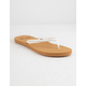 ROXY Costas White Womens Sandals