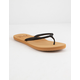 ROXY Costas Black Womens Sandals