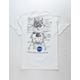 NEON RIOT NASA Lunar White Mens T-Shirt