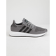 ADIDAS Swift Run Gray & Black Mens Shoes