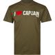 CAPTAIN FIN I Love Captain Mens T-Shirt