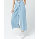 DICKIES Pleated Wide Leg Denim Pants