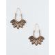 FULL TILT Leaf Drop Earrings