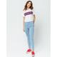 DICKIES Pin Stripe High Rise Skinny Jeans