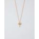 FULL TILT Palm Tree Gold Dainty Necklace