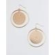 FULL TILT Round Filigree Hoop Earrings