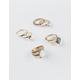 FULL TILT 9 Piece Stone Rings