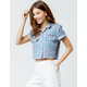 DICKIES Stripe Crop Shirt