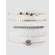 FULL TILT 5 Pack Star & Braid Beaded Bracelets