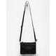 VIOLET RAY Leanna Stud & Braid Black Crossbody Bag
