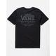 VANS Holder II Heather Black Mens T-Shirt