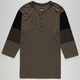 NIKE SB Blocked Mens Henley