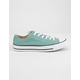 CONVERSE Chuck Taylor All Star Mineral Teal Low Top Womens Shoes