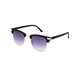 BLUE CROWN Mason Matte Clubmaster Sunglasses