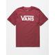 VANS Classic Burgundy Boys T-Shirt
