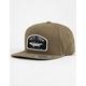SALTY CREW Striper Loden Olive Mens Snapback Hat