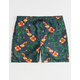 VANS Mixed Volley Wild Flower Mens Volley Shorts