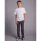 RSQ London Boys Charcoal Skinny Stretch Chino Pants