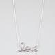 FULL TILT Cursive Love Necklace