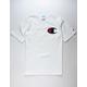 CHAMPION C Applique Logo White Mens T-Shirt