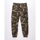 NITROUS BLACK Silencer Boys Camo Jogger Pants