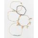 FULL TILT 5 Piece Feather & Bead Bracelets