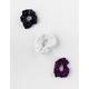 FULL TILT 3 Pack Floral & Polka Dot Scrunchies