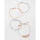 FULL TILT 5 Pack Feather & Bead Bracelets