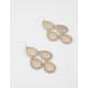 FULL TILT Chandelier Flower Earrings