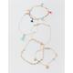 FULL TILT 5 Pack Tassel & Feather Bracelets