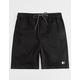 LIRA Forever Volley 2.0 Black Mens Volley Shorts