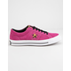 CONVERSE One Star OX Active Fuchsia & White Shoes