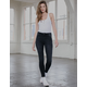 RSQ High Rise Wash Black Womens Jeggings