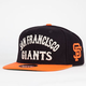 AMERICAN NEEDLE Giant Camber Giants Mens Snapback Hat
