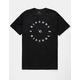 RIP CURL Reminder Black Mens T-Shirt