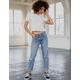 RSQ Boyfriend Medium Blast Womens Ripped Jeans