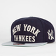 AMERICAN NEEDLE Giant Camber Yankees Mens Snapback Hat