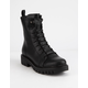 WILD DIVA Jacky Womens Combat Boots