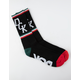 DGK Swervin Black Mens Crew Socks