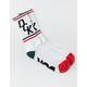 DGK Swervin White Mens Crew Socks