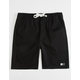 LIRA Charger 2 Black Boys Volley Shorts