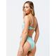 RHYTHM Islander High Waisted Cheeky Mint Bikini Bottoms